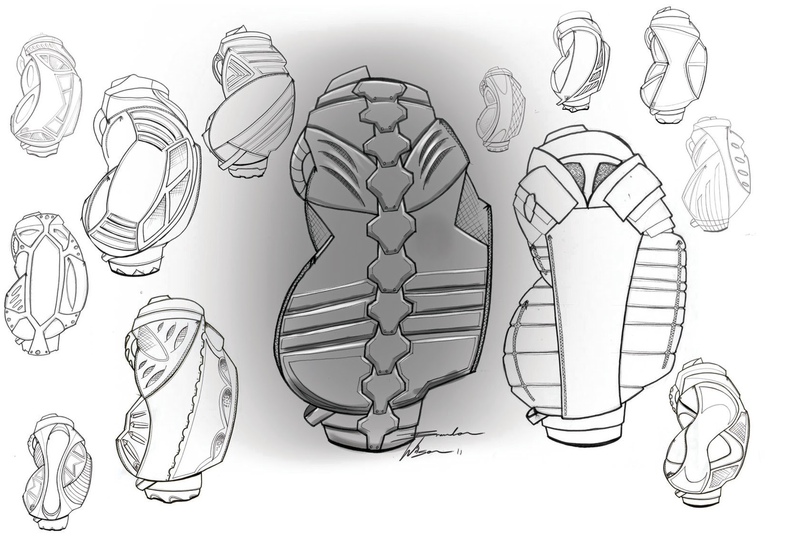 Bag Sketches Design