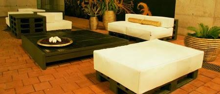 Muebles elegantes y de dise o hechos for Diseno de muebles con palets
