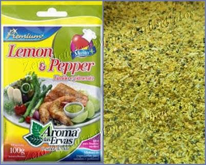 Lemon Pepper tempero