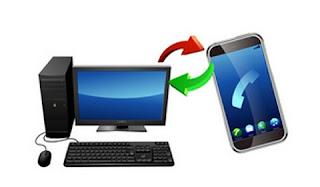 Sinkronisasi HP dangan PC Menggunakan Wifi