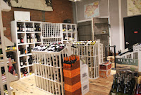 Wine room at Bee's Knees Supply Company