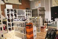 Wine room at Bee's Knees Supply Company