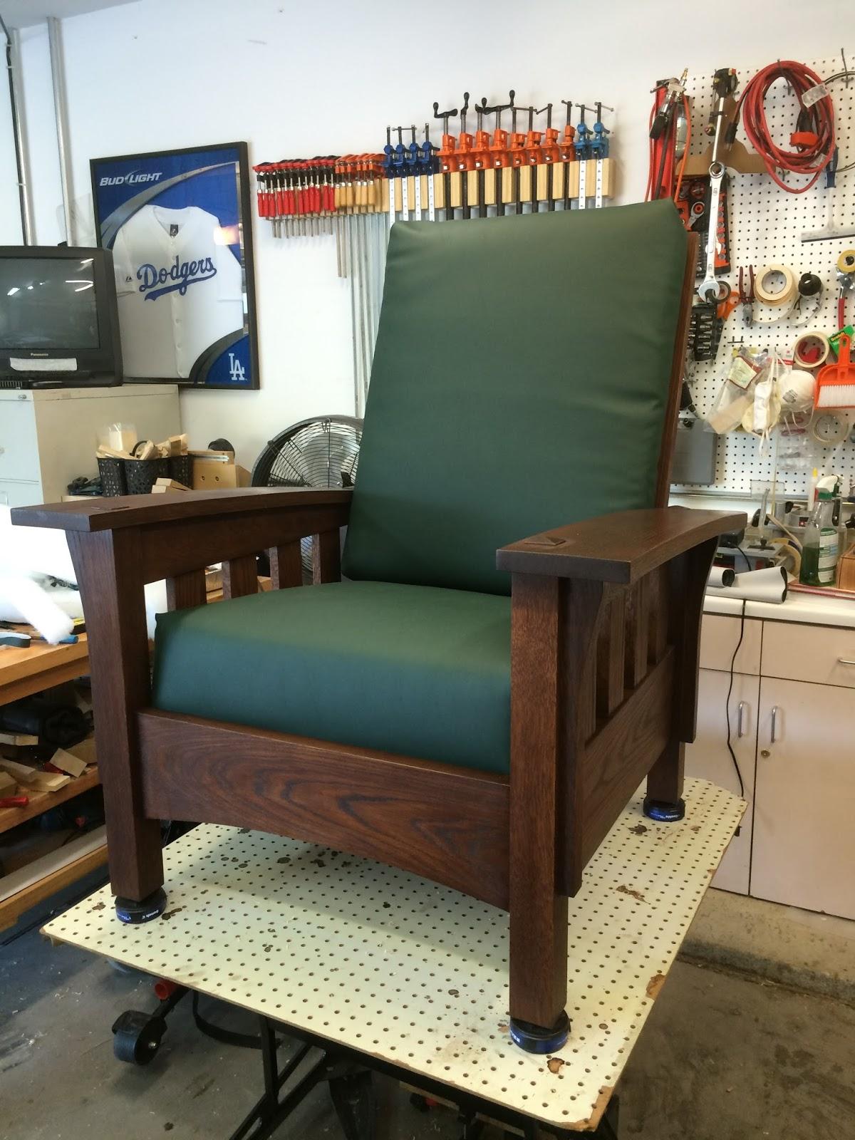 Morris chair cushions - Bow Arm Morris Chair 41 Upholstery For Cushions 2