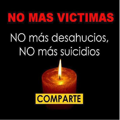 Basta ya de esto crímenes no son suicidio es asesinato
