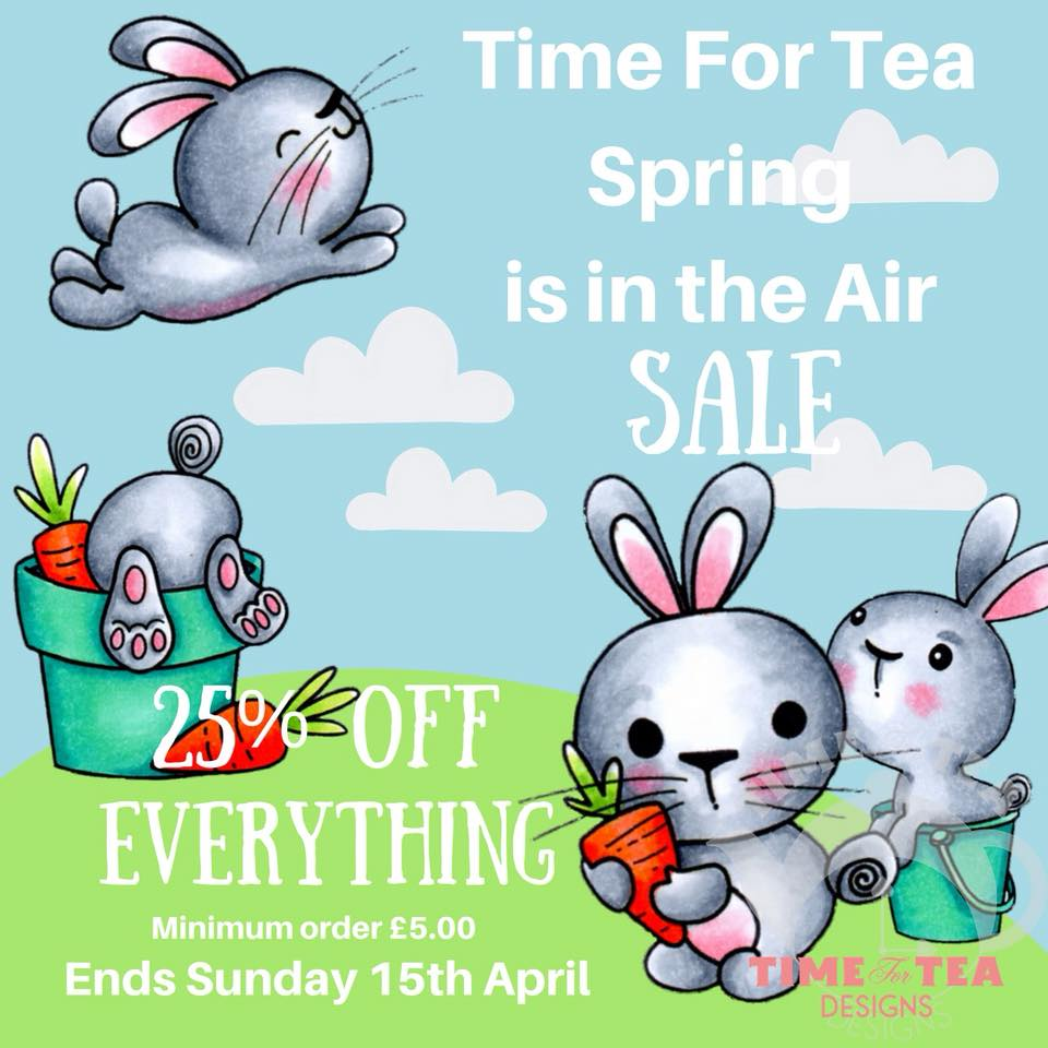 Time for Tea Sale ends 15th April