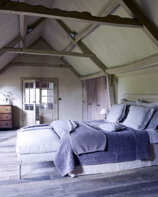 rustic bedroom