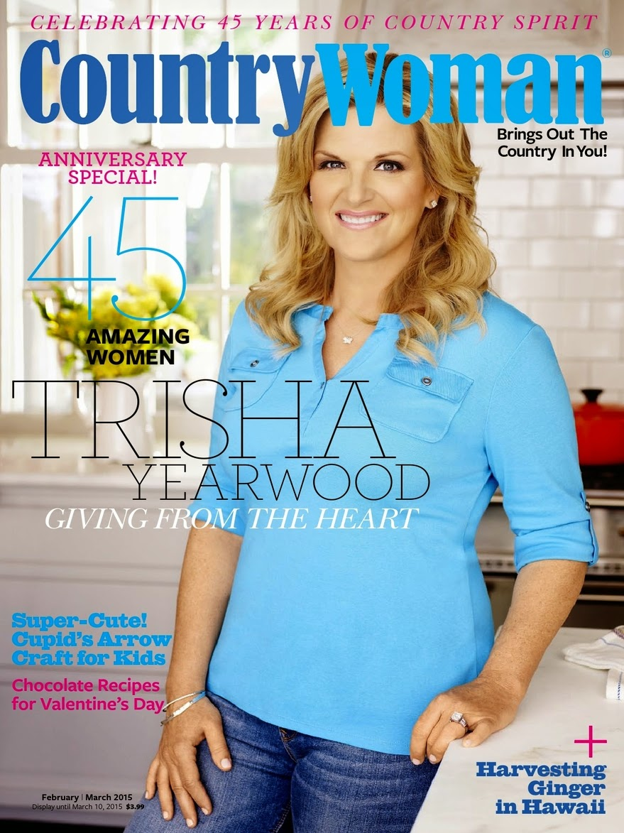 Singer, Author, Actress: Trisha Yearwood for Country Woman