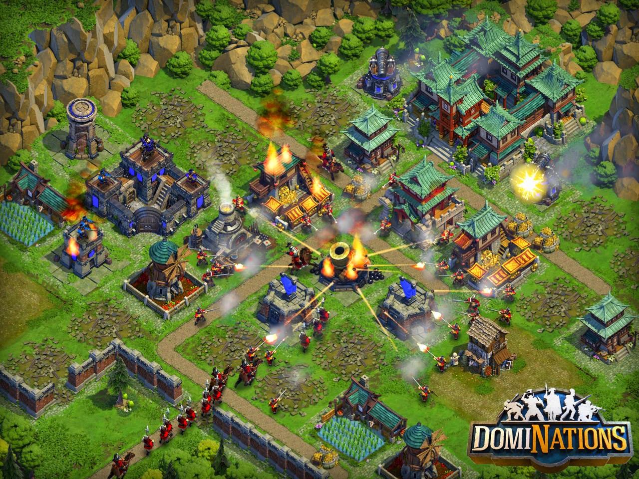 تحميل لعبة Dominations للأندرويد