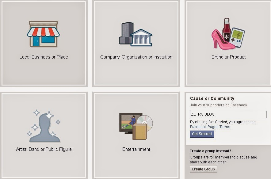 Cara Membuat Fanpage atau Halaman di Facebook