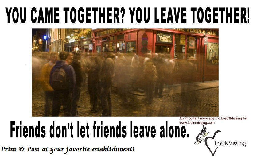 Friends Don't Let Friends Leave Alone