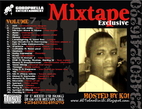 Goodphella Entertainment Mixtape Exclusive Vol.7 HOSTED BY K01