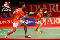Andrei/Markus melangkah ke babap perempat final Djarum Indonesia Open 2013- exnim.com