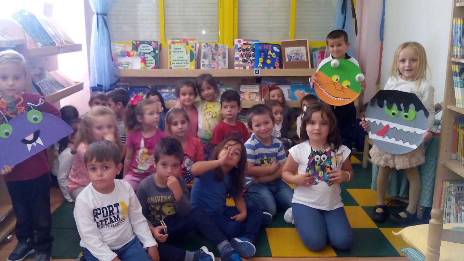 Biblioteca escolar ceip joaquin tendero semana de monstruos for Ceip llamados