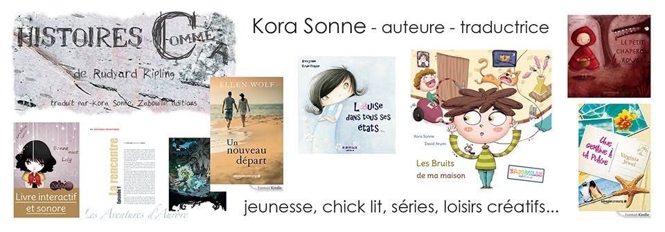 Kora Sonne - Auteure-traductrice