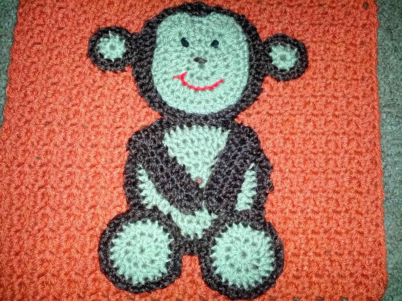 Free crochet pattern for monkey blanket dancox for blooming lovely january 2014 free crochet pattern for monkey blanket bankloansurffo Images