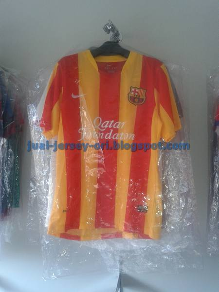 Jual Jersey Barca Away Leaked 2014