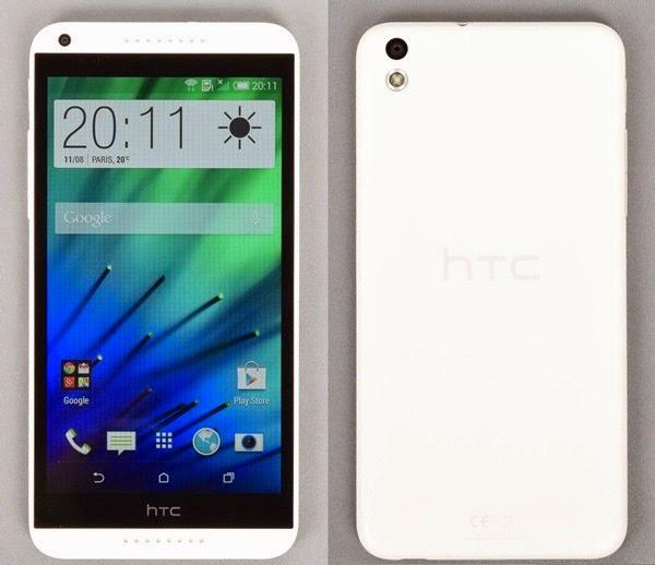 HTC desire 816 face