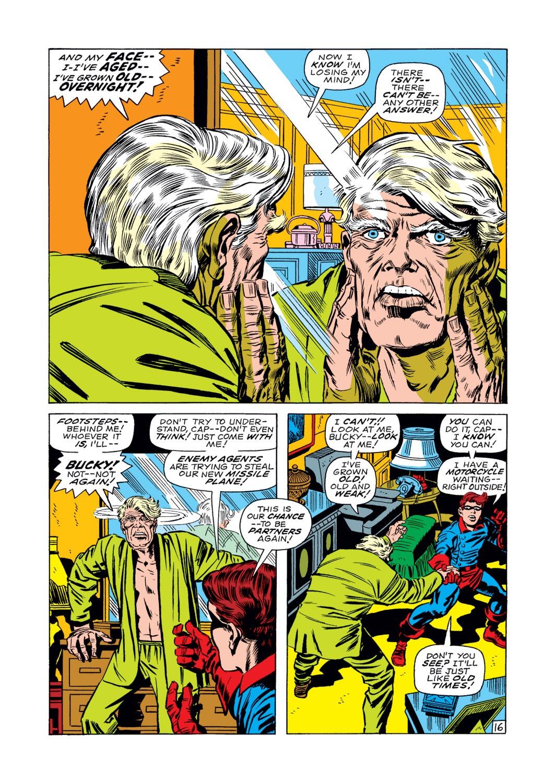 Captain America (1968) Issue #107 #21 - English 17