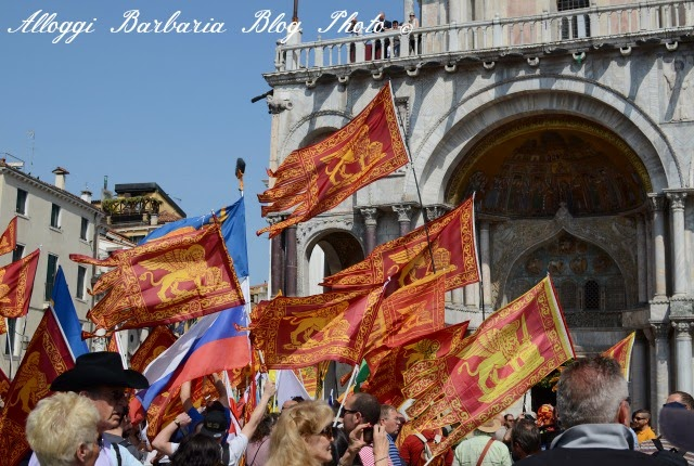 Venetisti in Piazza San Marco