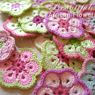 Flickr: The Crocheting African Flowers Pool