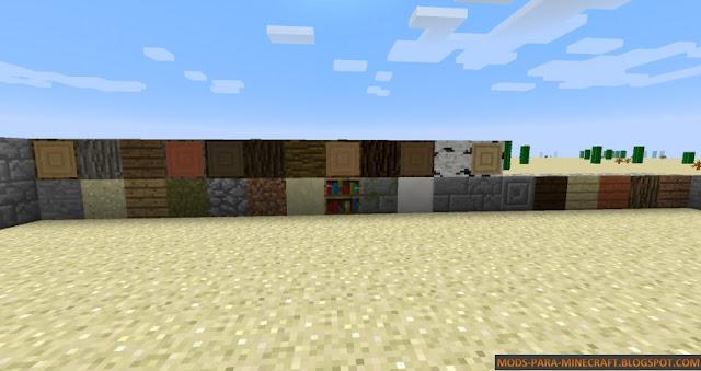 Bloques trampa del mod Stealth Blockspara Minecraft 1.7.10