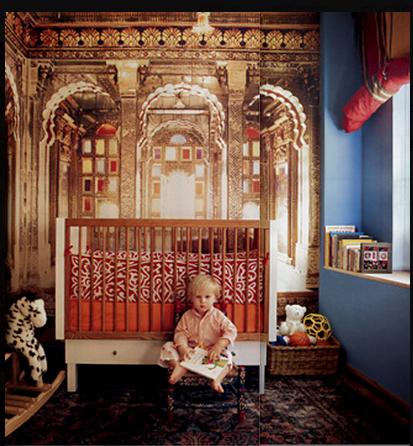 chambre enfant,décoration,inspiration marocaine