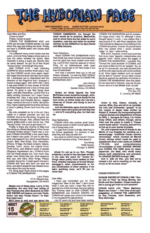 Conan the Barbarian (1970) Issue #247 #259 - English 24