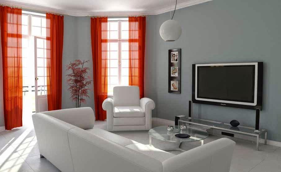 Warna dan cat ruang tamu 4
