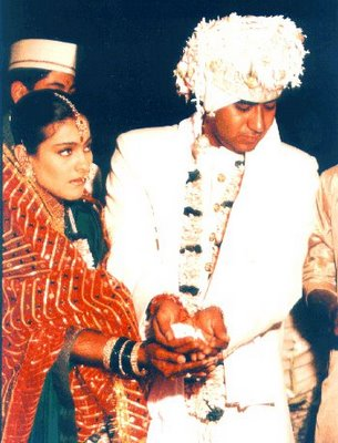 ajay & kajol wedding pictures |shaadi