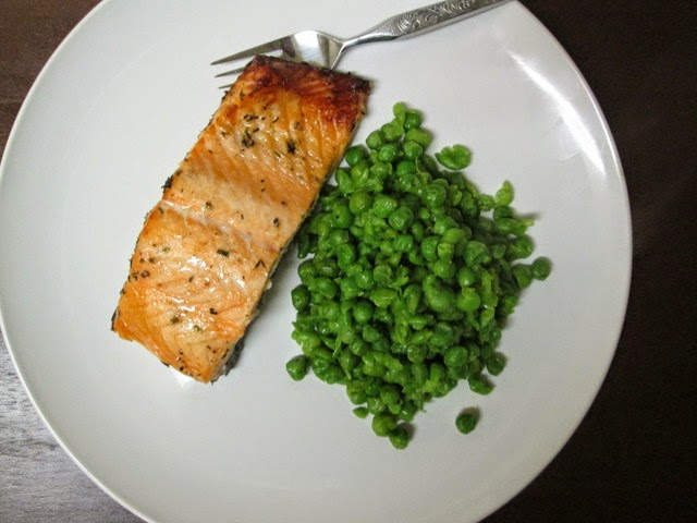 Irish whisky roasted salmon