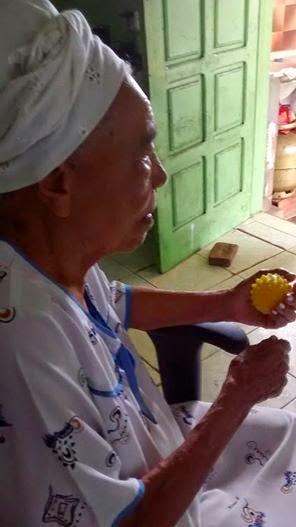 Vó Dorinha: a mais jovem ouvinte do Alacazum (95 anos)