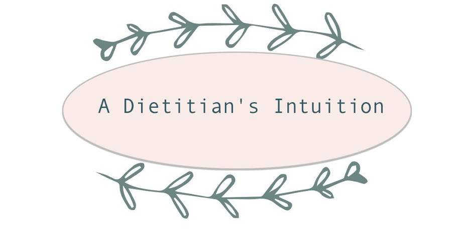 A Dietitian's Intuition