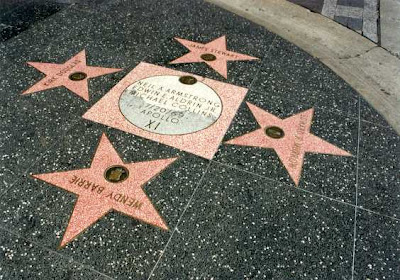 Think you're going on Hollywood's Walk of Fame Reality TV scum?? THINK AGAIN!