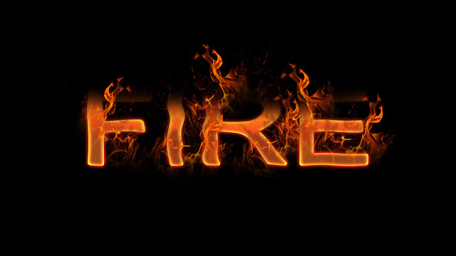realistic-fire-Text-effect-in-Photoshop