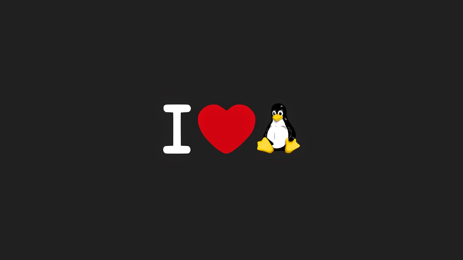 I love Linux