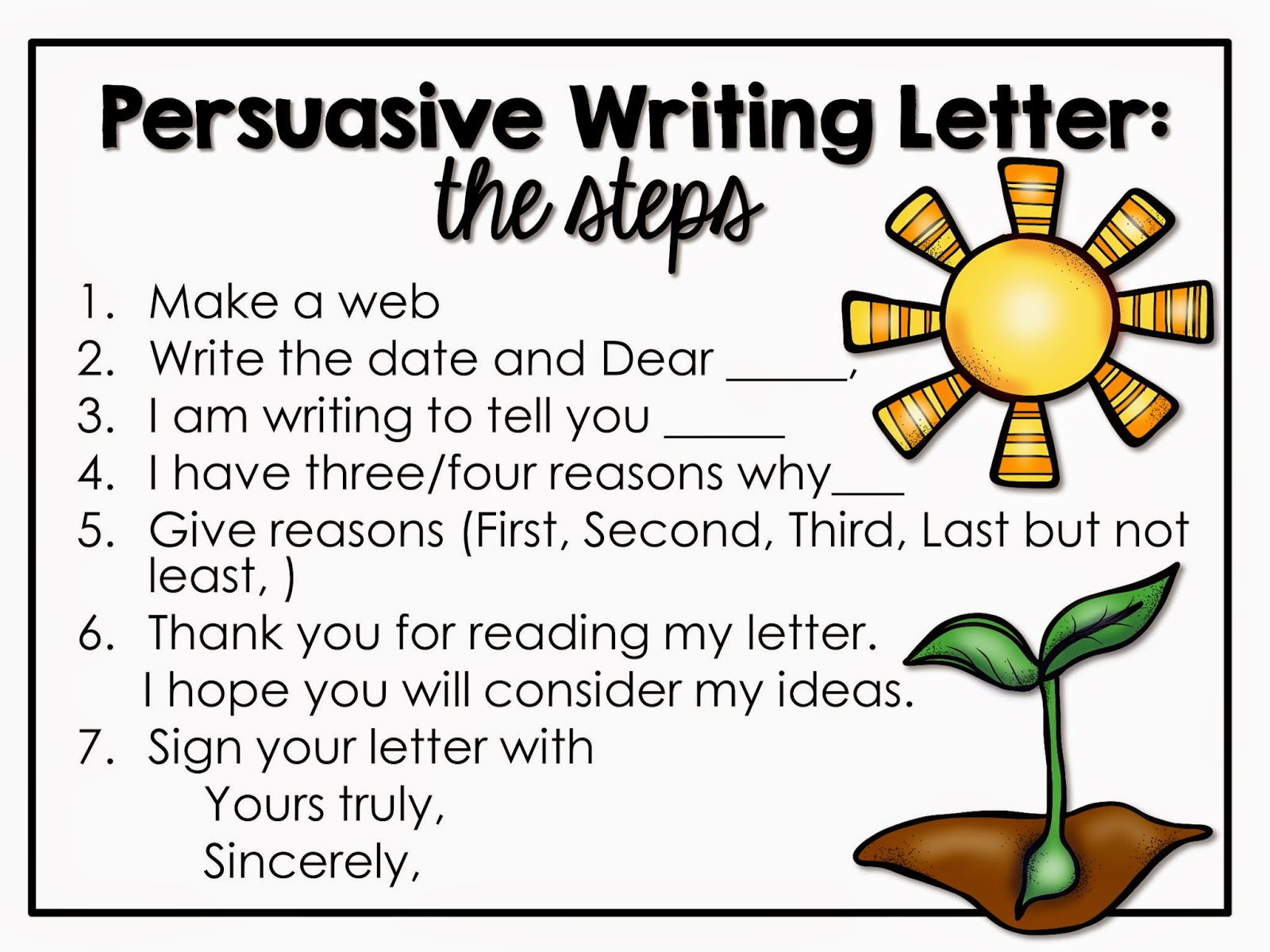 persuasive writing kids Persuasive writing is a form of nonfiction writing that encourages careful word   young children can be guided through a series of simple steps in an effort to.