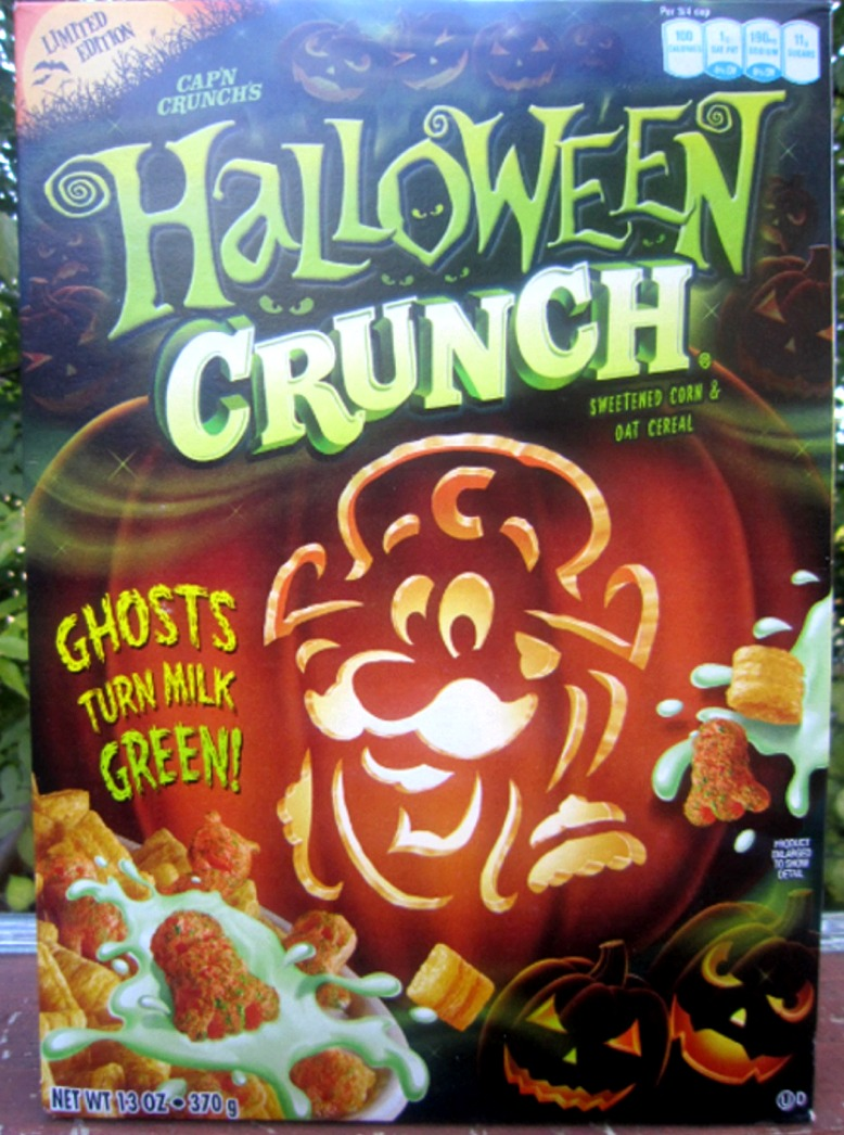 halloween crunch cereal - Captain Crunch Halloween