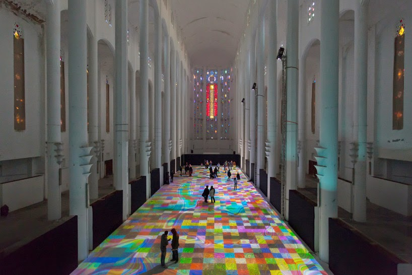 Nest of Pearls - Australian Design Blog - Miguel Chevalier - Magic Carpets 2014