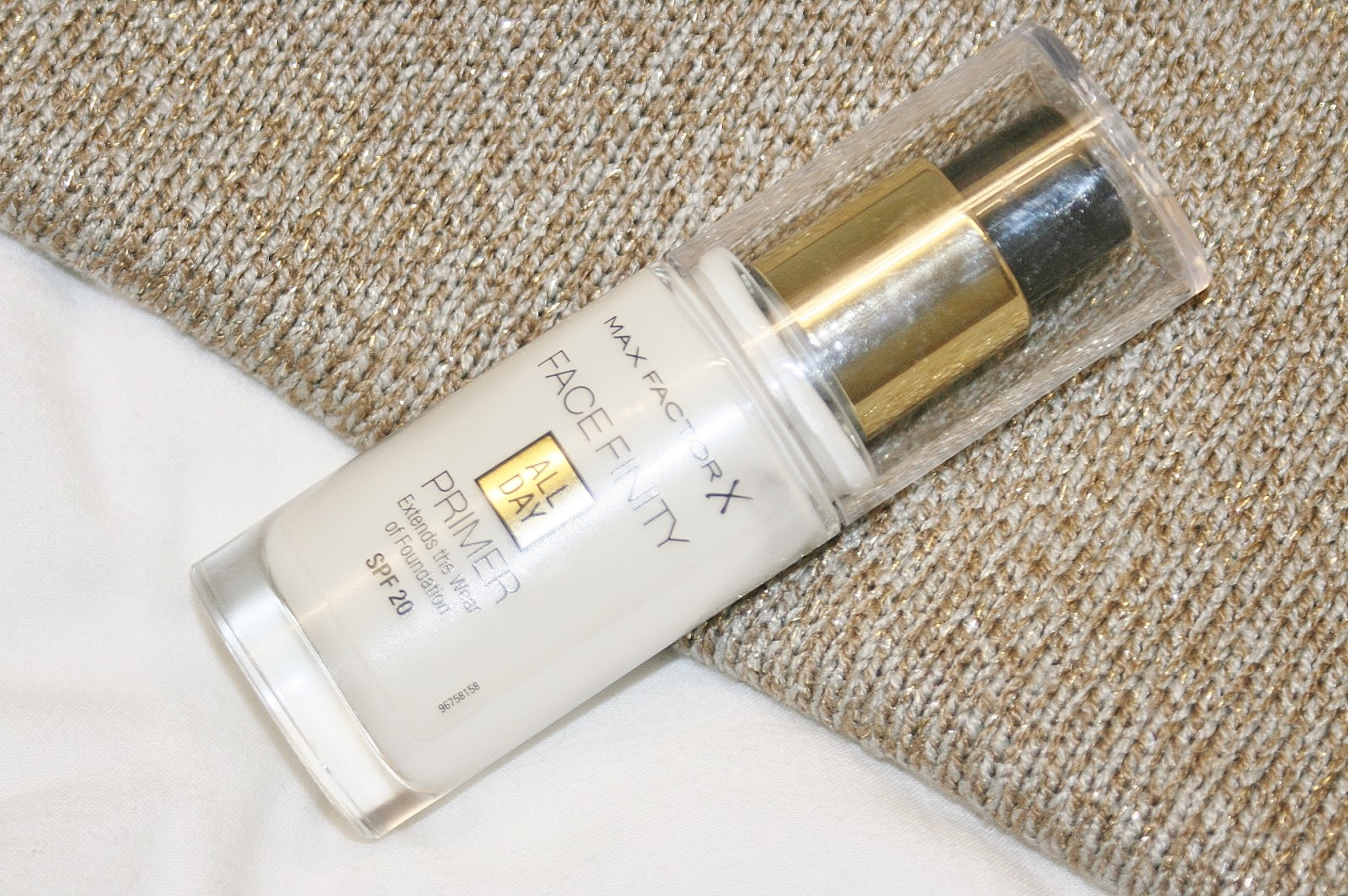 Katherine Penney Chic Maxfactor Primer SPF