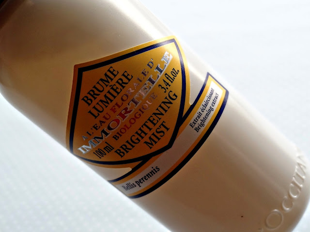 L'Occitane Immortelle Brightening Face Mist Dry Skin Mist Review