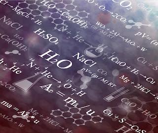科学的な数式の背景 Scientific formulas backgrounds イラスト素材1