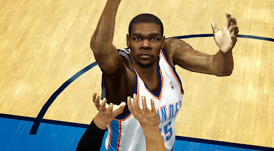 NBA 2K14 KD Real Life Cyber Face Mods