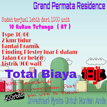 BOOKING FEE 1jt