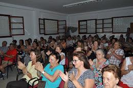 salón de actos del ayuntamiento de Villabuena del Puente