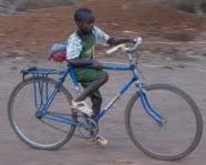 Bicicletas para Senegal