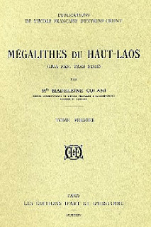 Lao book review - Megalithes du Haut-Laos