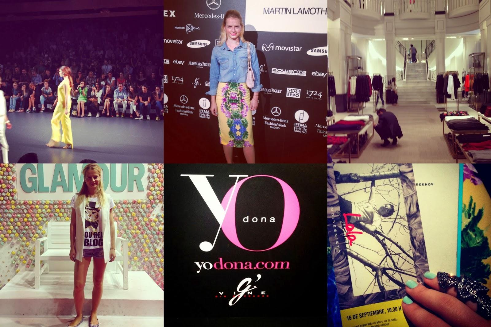 Неделя моды в Мадриде 2013