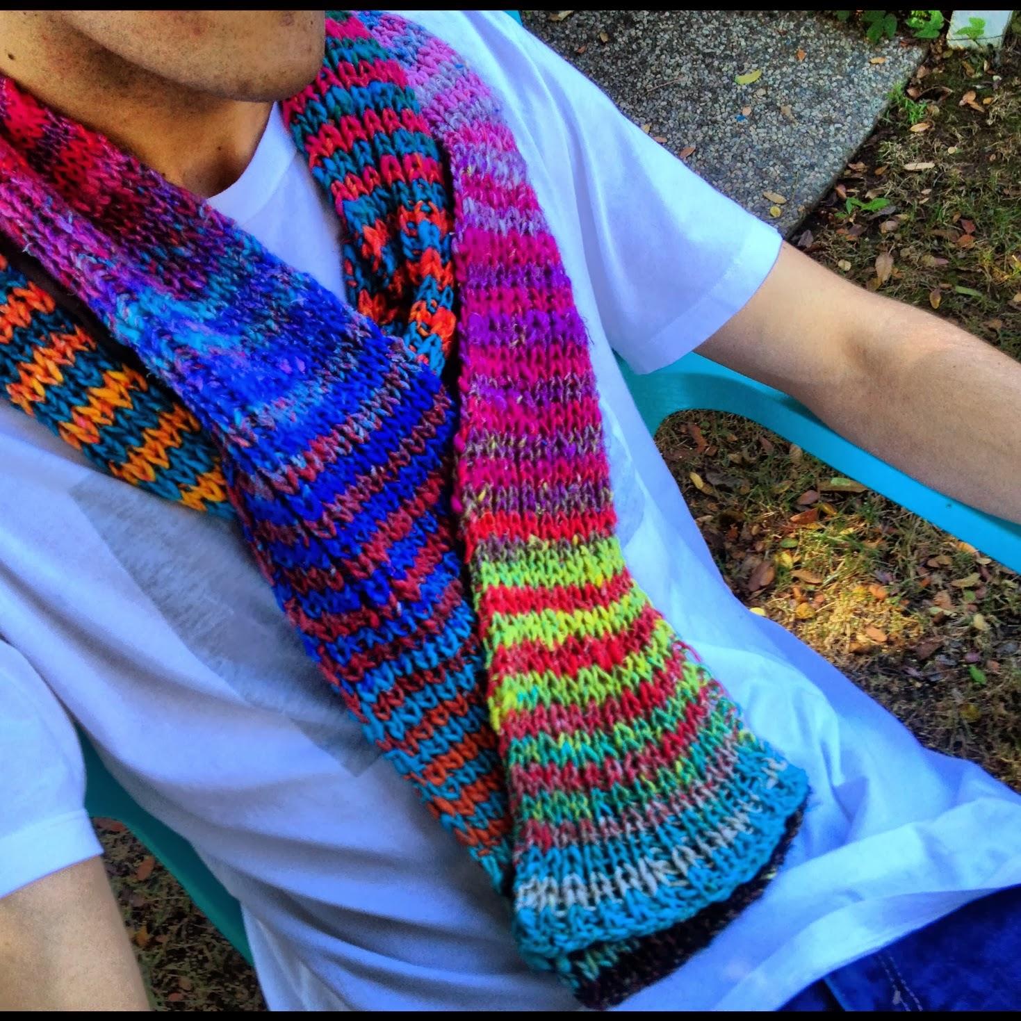 Knitting on fire: Handmade by Babette