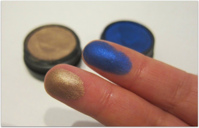 MAC Electric Cool Eyeshadow Swatches