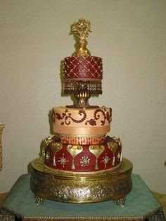 Well Here Are Some Symbolic Meaning Behind The Wedding Cake In A Celebration Party Following Theme Of And From Morocco